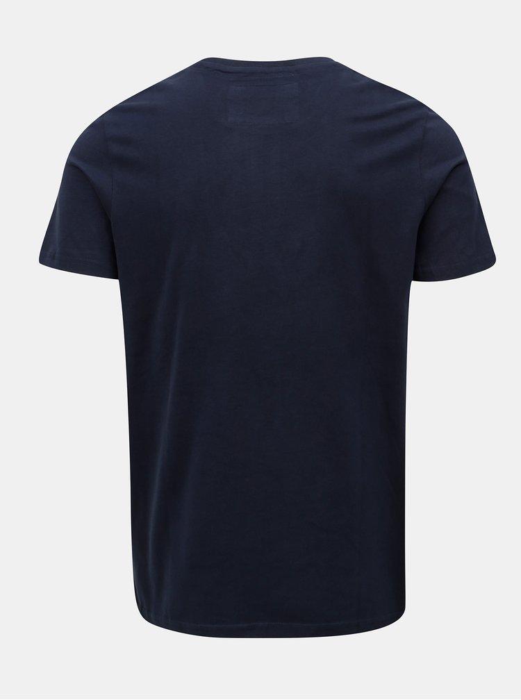 Tmavě modré tričko s potiskem Jack & Jones Fara Tee