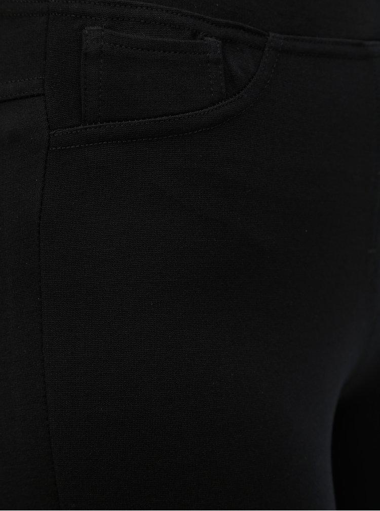 Černé jeggings s kapsami Yest