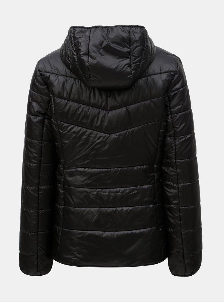 Černá lehká prošívaná bunda Yest