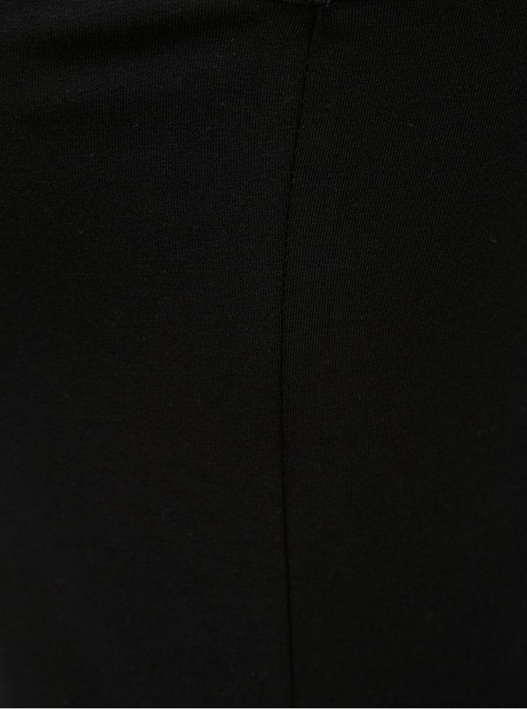 Černé basic šaty bez rukávů Yest