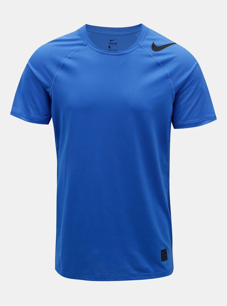 Modré pánské funkční tričko Nike Pro Hypercool