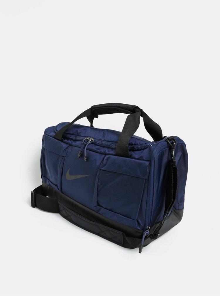 Čierno-modrá športová taška Nike Midnight 37 l