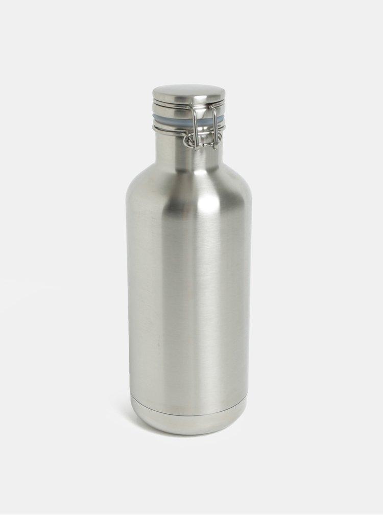 Nerezová termolahev ve stříbrné barvě Klean Kanteen Insulated Growler 946 ml