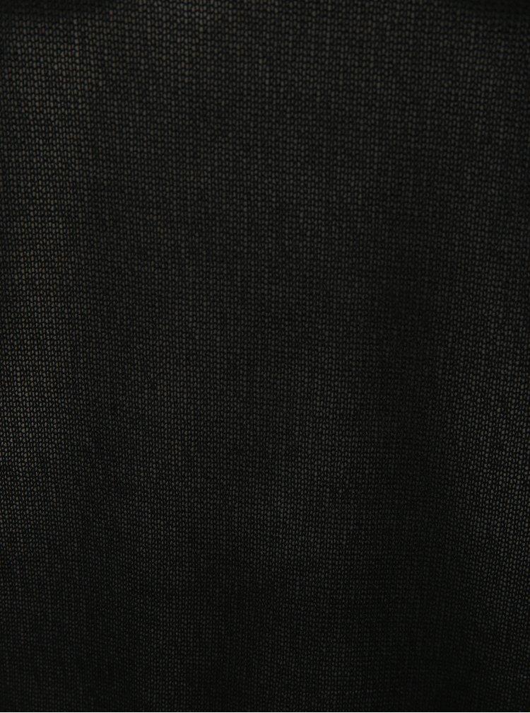 Černý lehký volný svetr Noisy May Fash