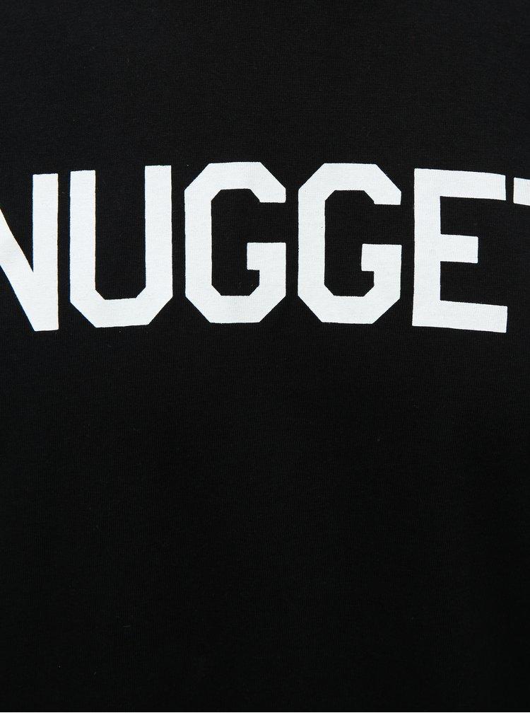 Černé pánské tričko NUGGET