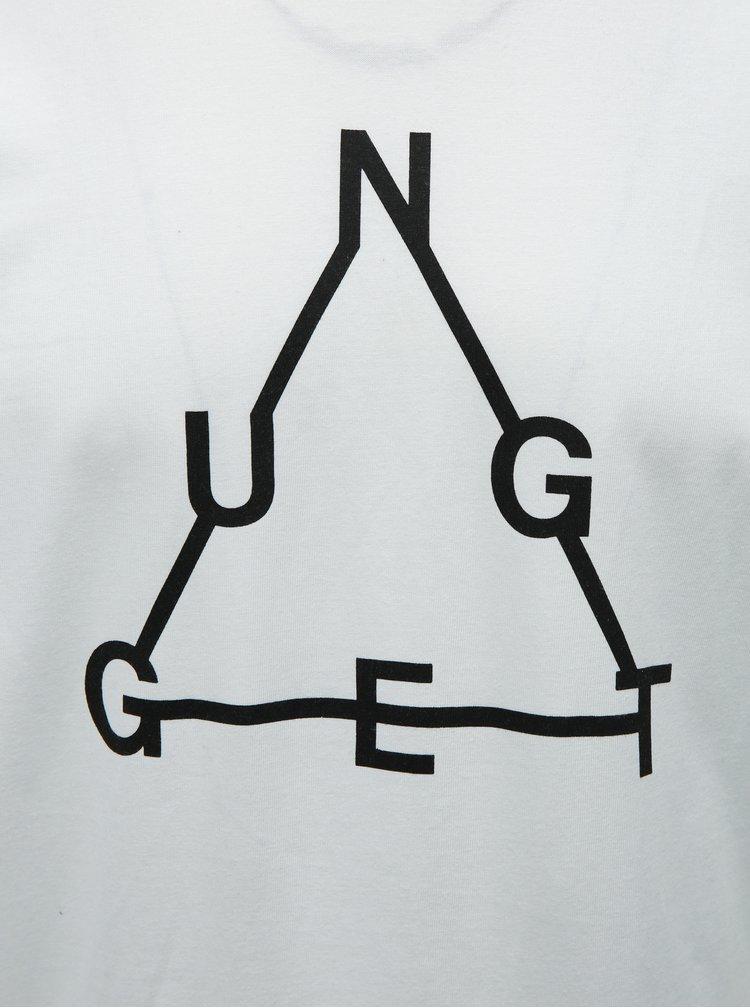 Tricou barbatesc alb NUGGET