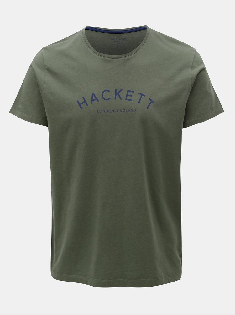 Tricou kaki classic fit Hackett London