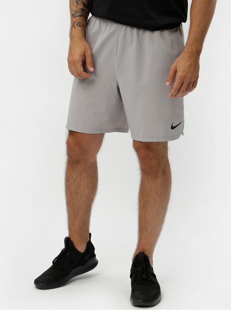 Šedé pánské standart fit kraťasy Nike Vent Max 2.0