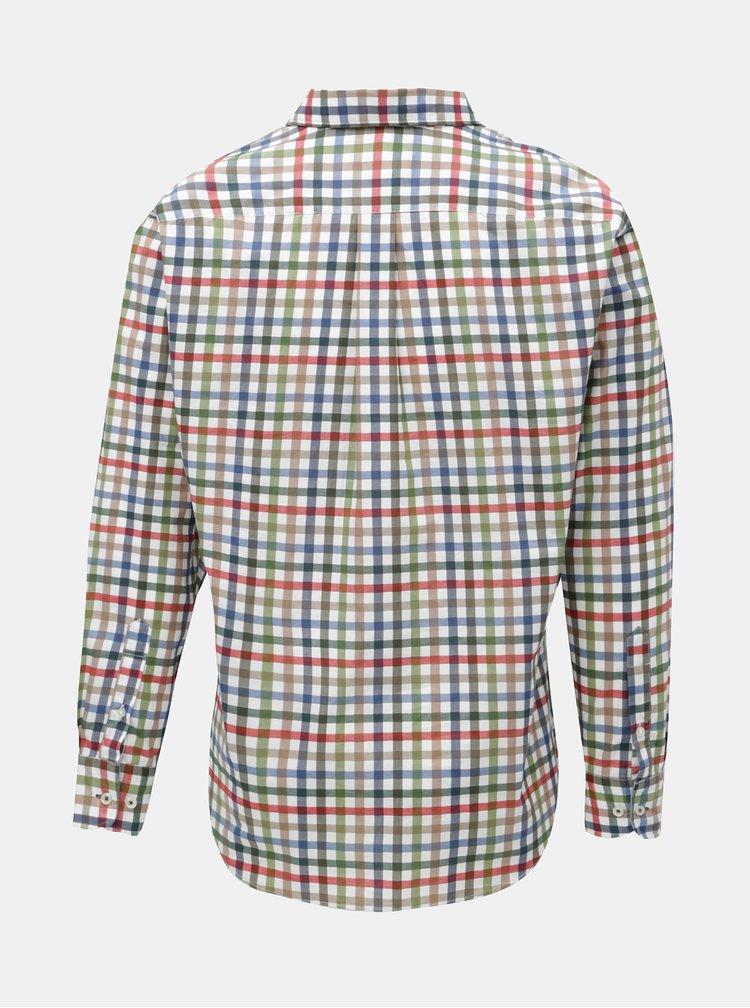Modro-krémová vzorovaná casual fit košile Fynch-Hatton