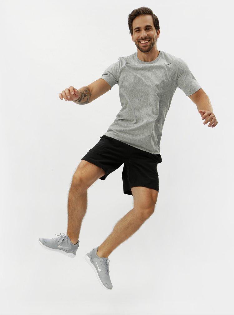 Tricou barbatesc gri melanj Nike