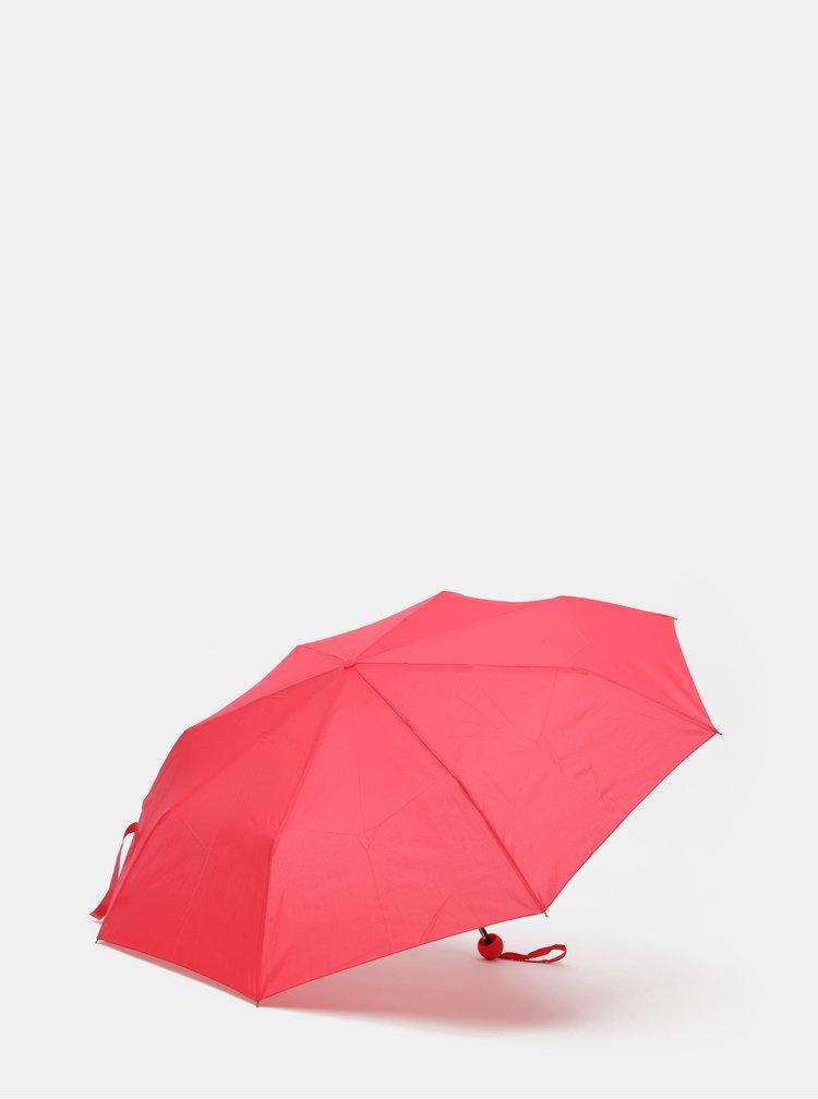Červený skládací deštník Rainy Seasons
