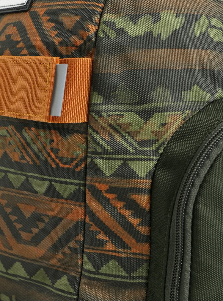 Oranžovo-zelený klučičí batoh Burton Metalhead 18 l