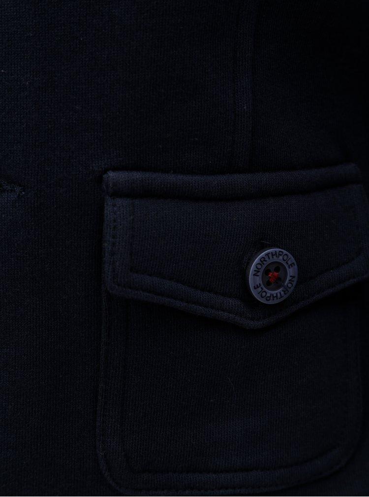 Tmavě modré klučičí sako s nášivkou North Pole Kids