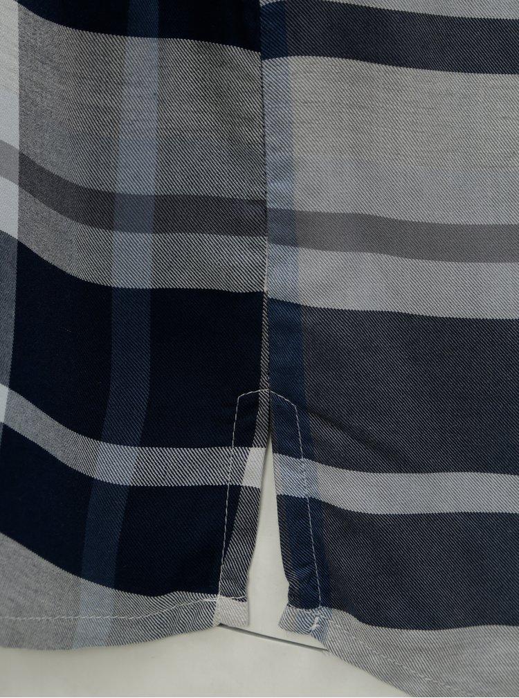Modro-šedá kostkovaná košile Ulla Popken