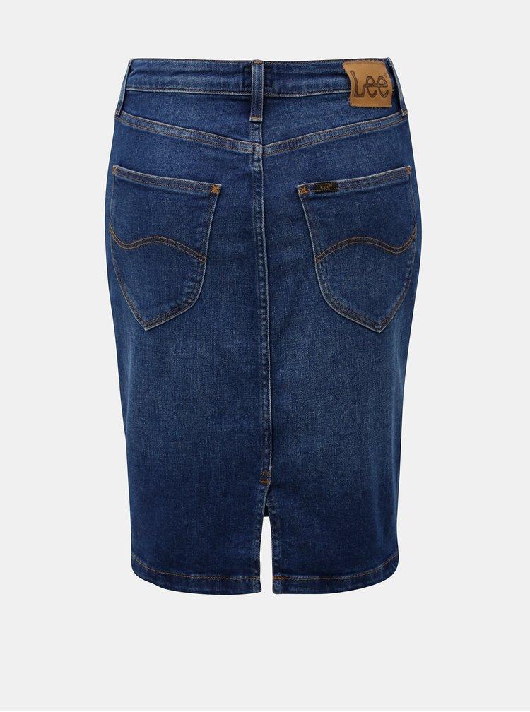 Modrá džínová sukně Lee