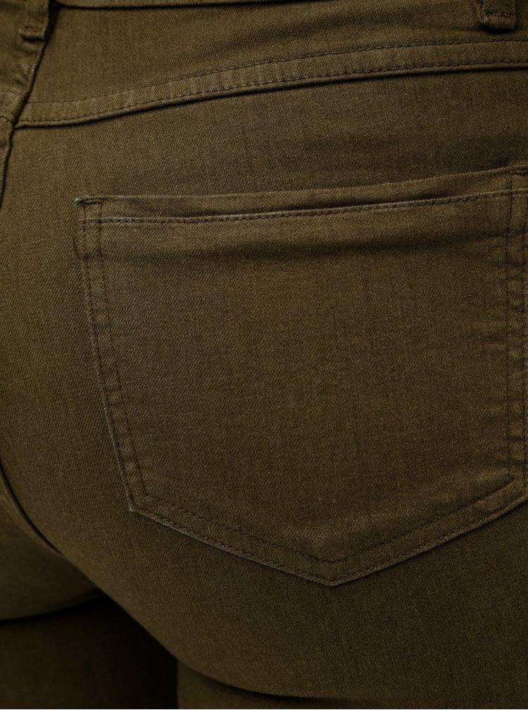 Khaki skinny džíny Yerse