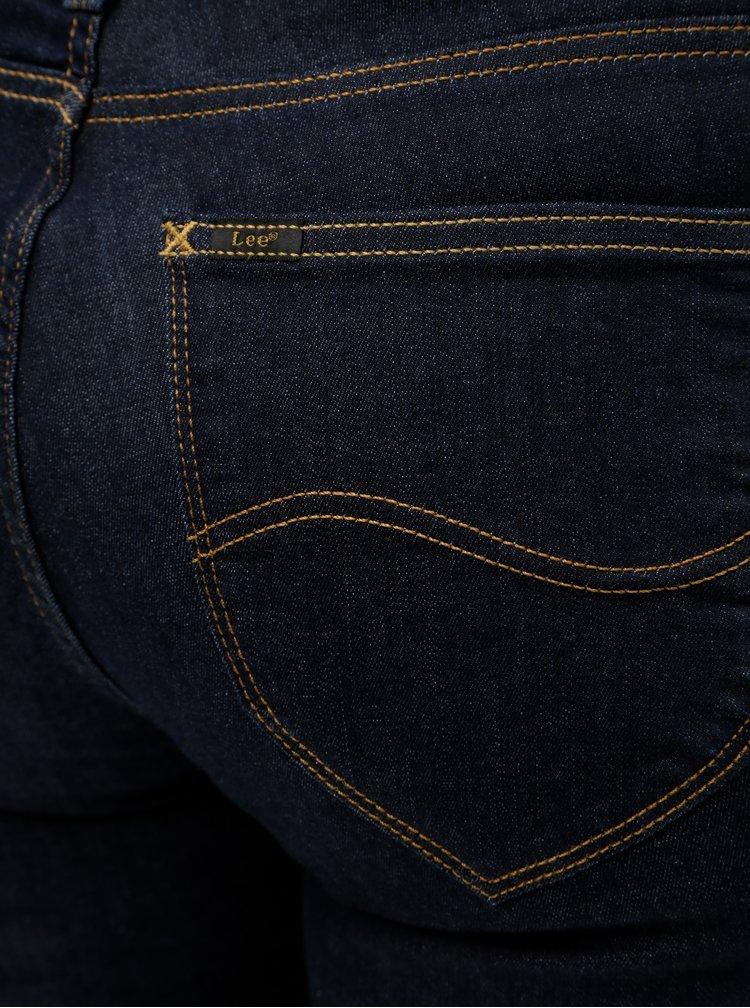 Tmavě modré skinny džíny Lee