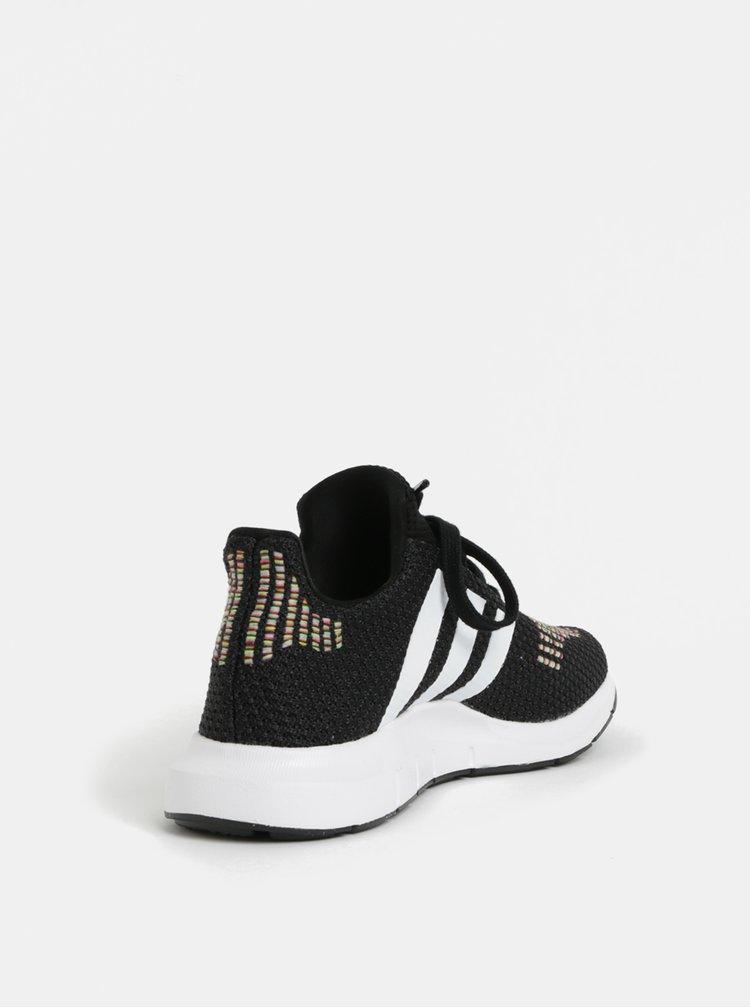 Černé dámské tenisky adidas Originals Swift Run