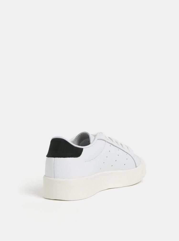 Bílé kožené tenisky adidas Originals Everyn