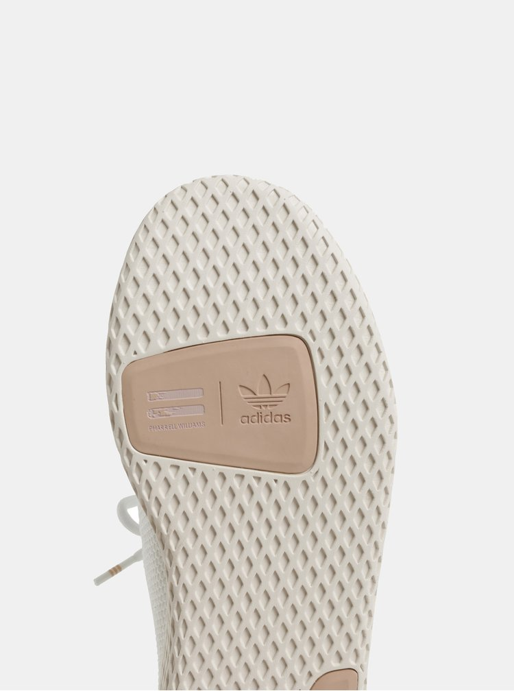 Hnědo-bílé dámské tenisky adidas Originals Tennis
