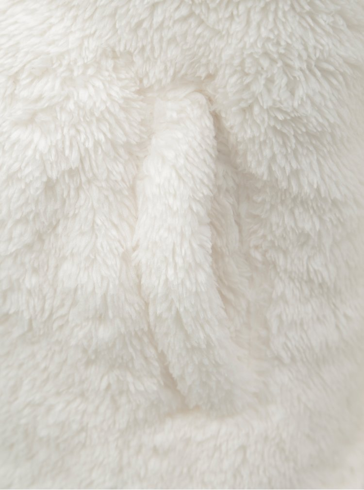 Krémová holčičí mikina s kapucí Roxy