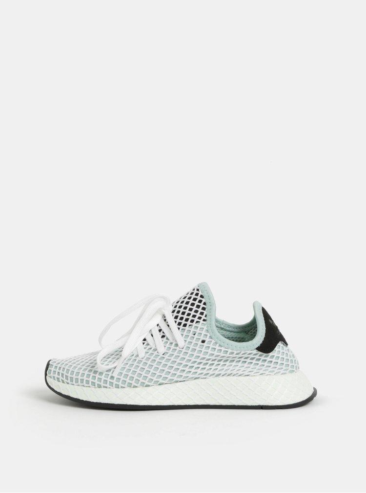 Bílo-mentolové dámské tenisky adidas Originals Deerupt Runner