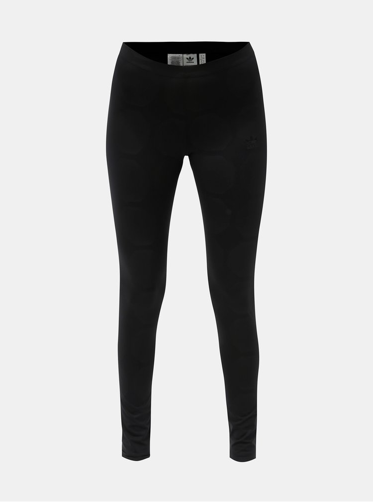 Leggings de dama negri cu model fotbal adidas Originals Tight