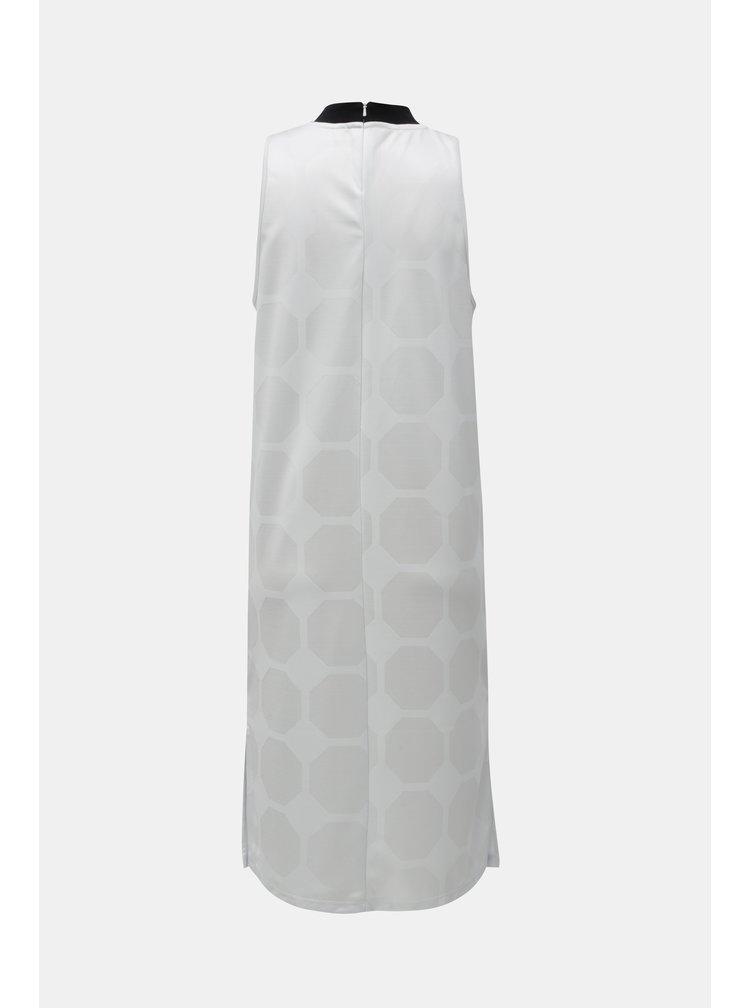 Bílé šaty s fotbalovým vzorem adidas Originals