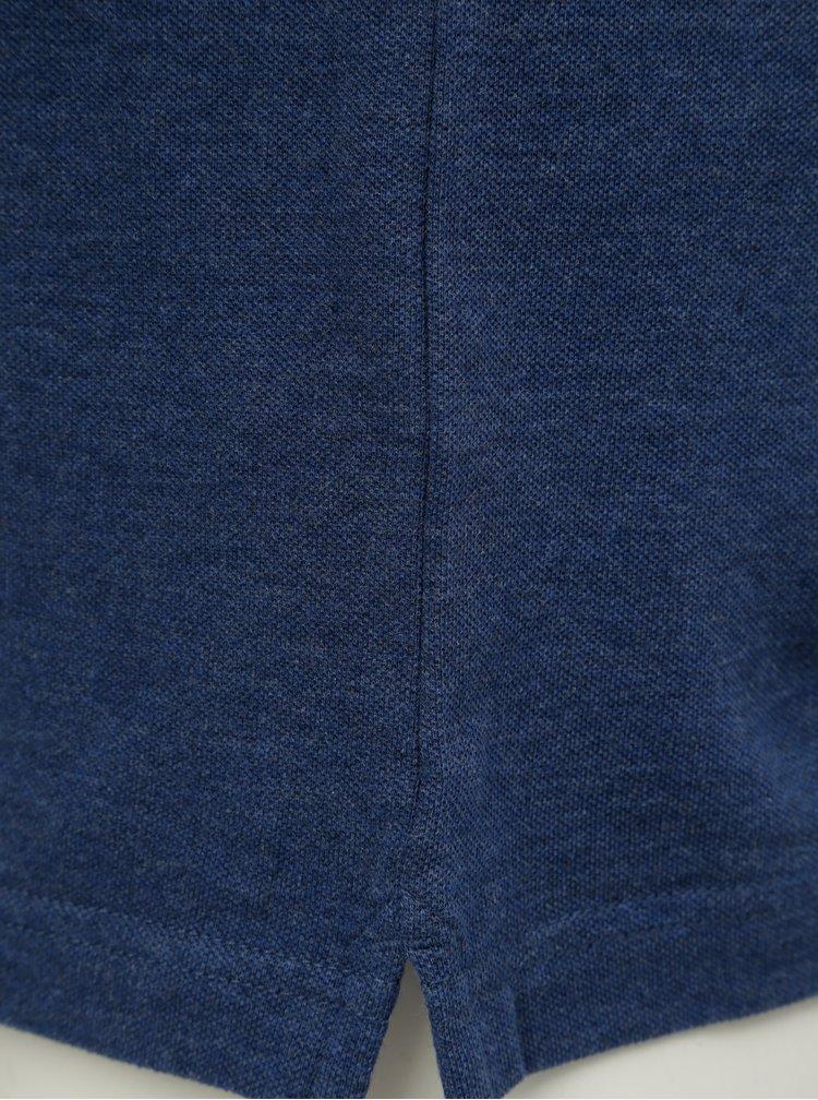 Modré basic polo tričko Farah Merriweather