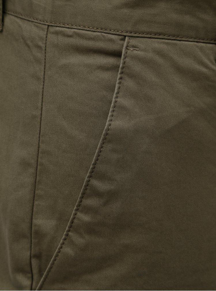 Khaki chino kalhoty Farah Twill