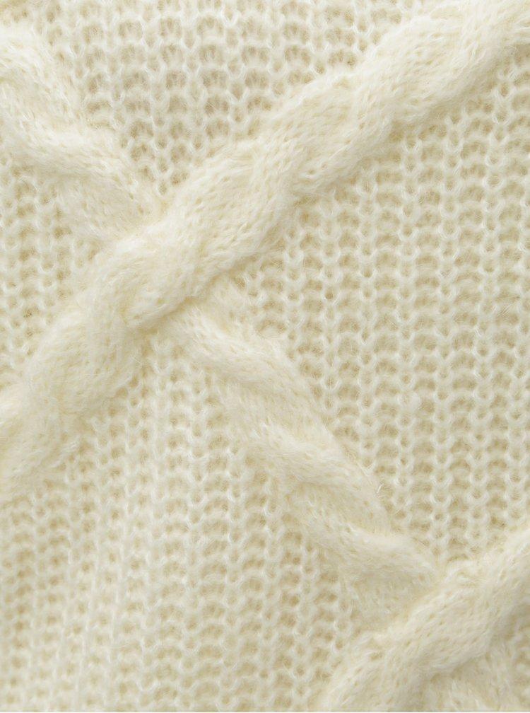 Krémová krátký svetr Selected Femme