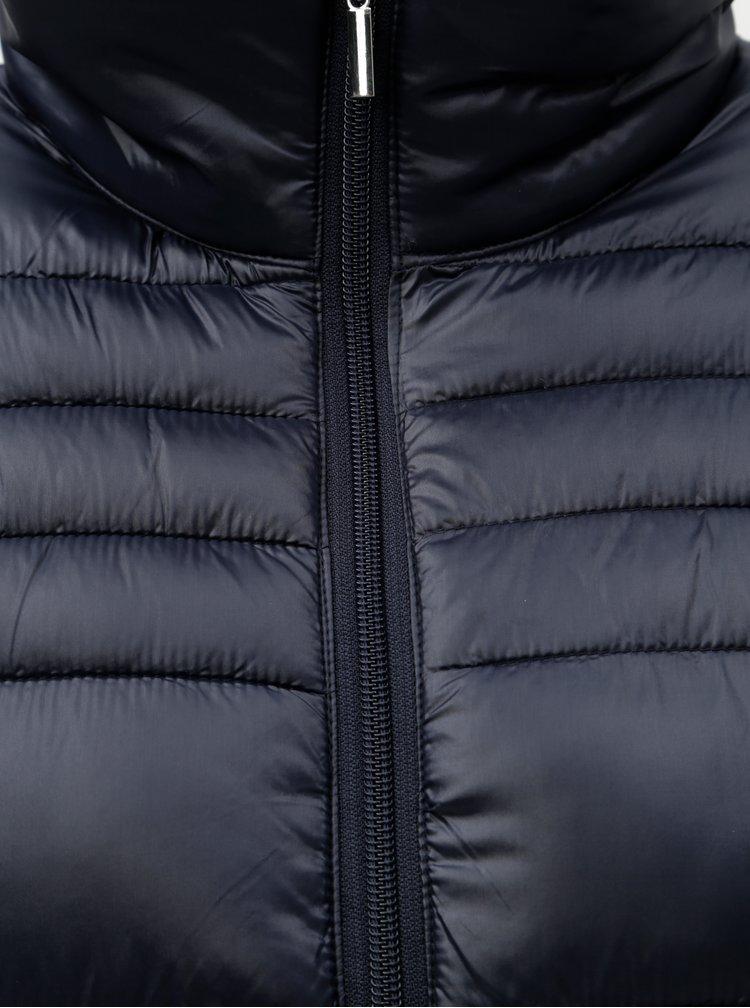 Tmavě modrý prošívaný kabát Dorothy Perkins