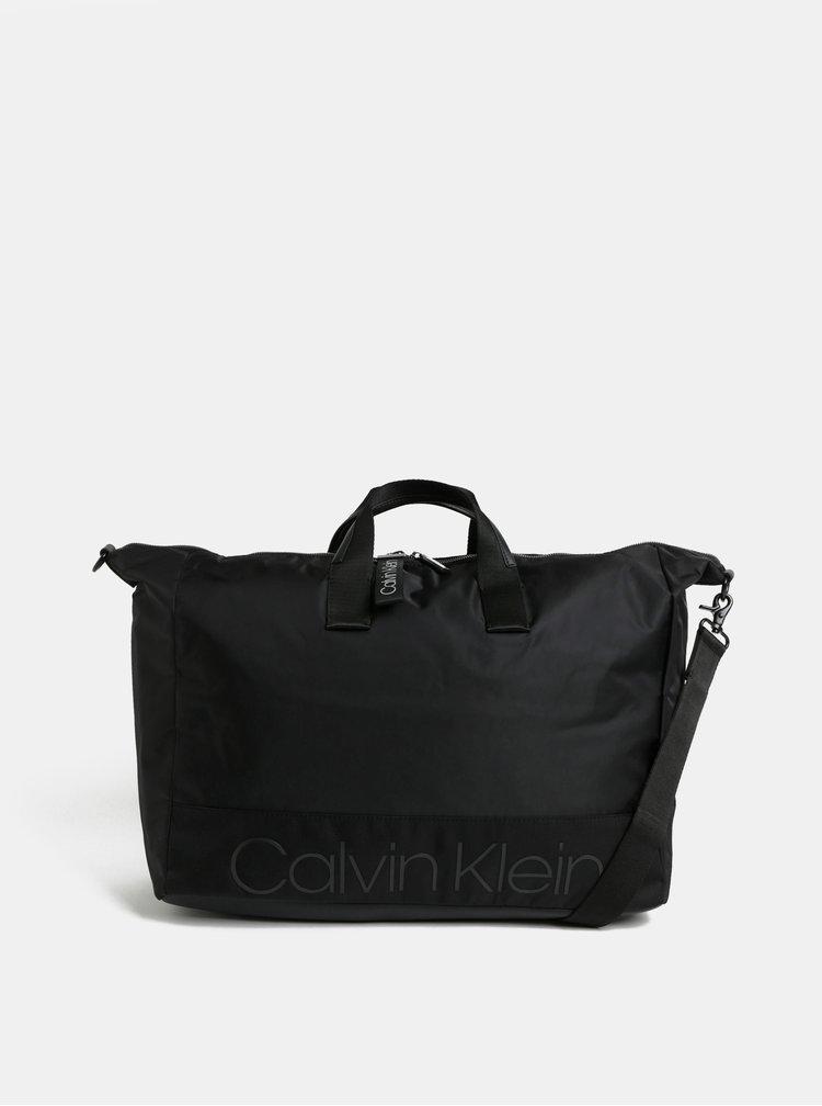 Černá cestovní taška Calvin Klein Jeans