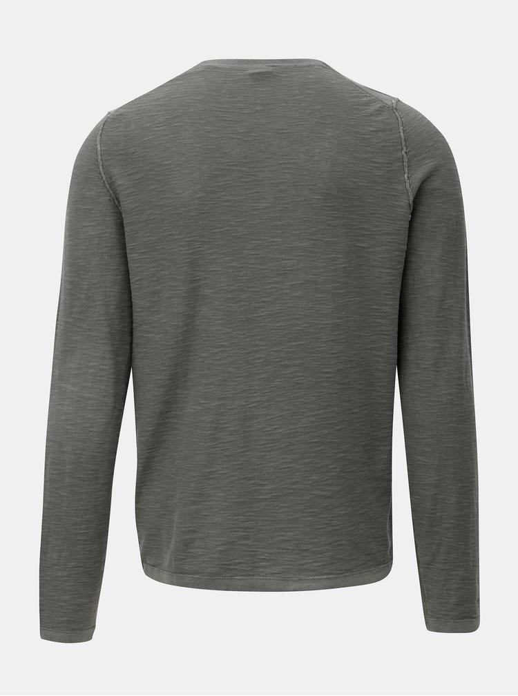 Šedé pánské tričko s.Oliver