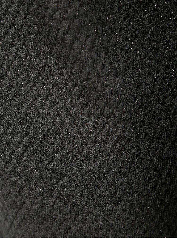 Tmavě šedý kardigan s dlouhým rukávem ONLY Diamond