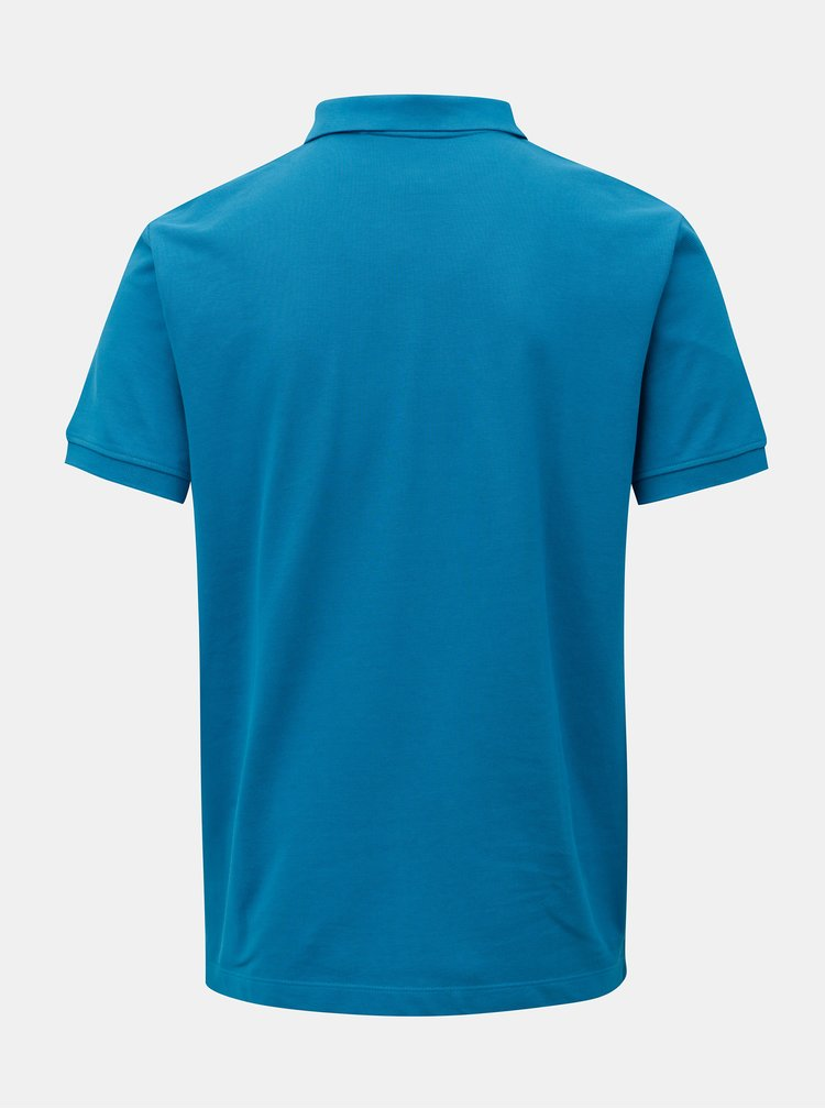 Tricou polo barbatesc regular fit albastru s.Oliver
