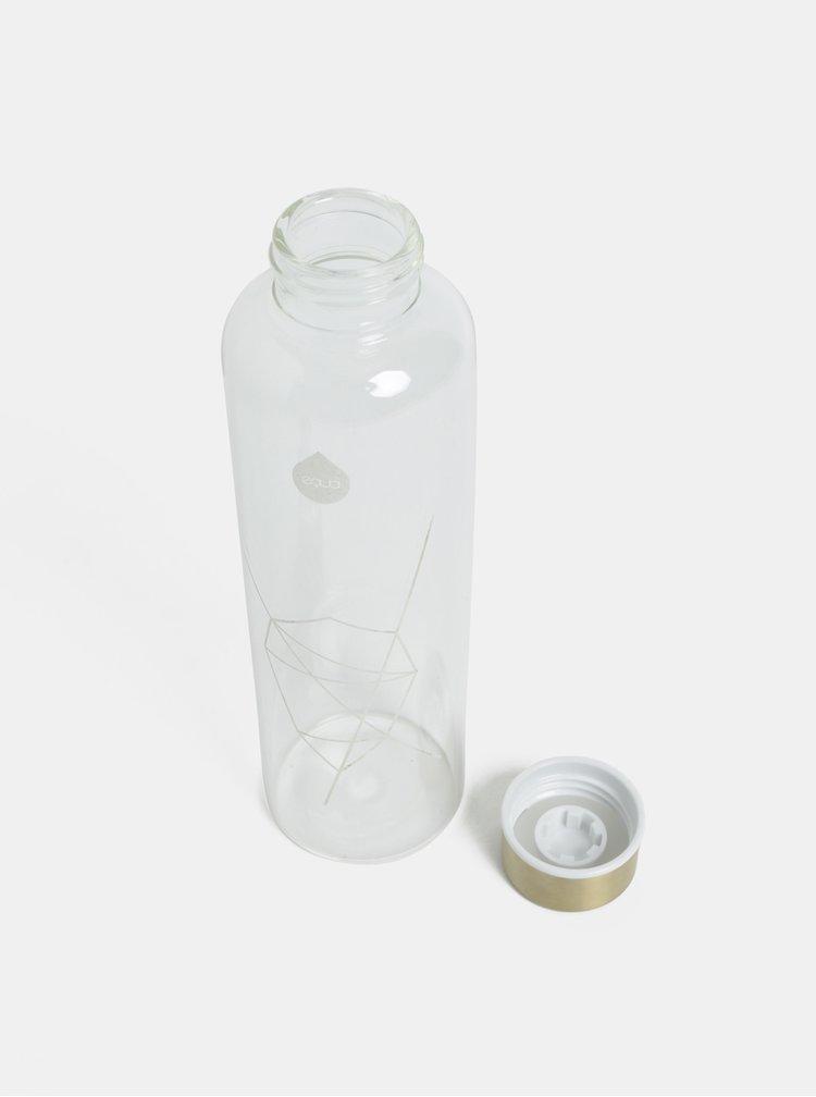 Transparentní skleněná láhev na vodu EQUA 750 ml