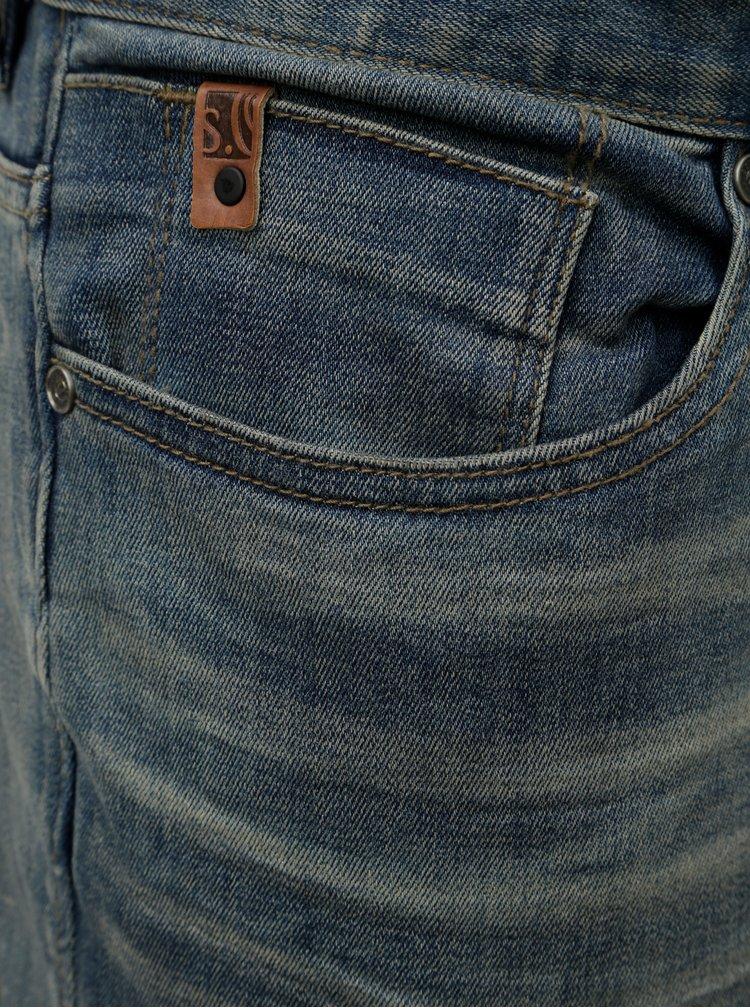 Modré pánské regular fit džíny s.Oliver