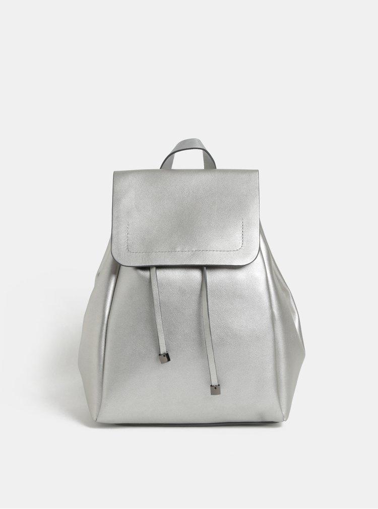 Dámský batoh ve stříbrné barvě Pieces Flora