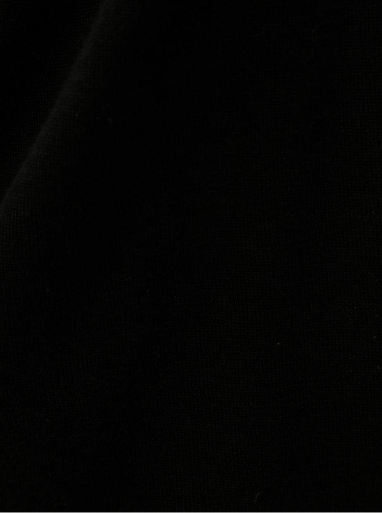 Černý dámský krátký kardigan s 3/4 rukávem s.Oliver