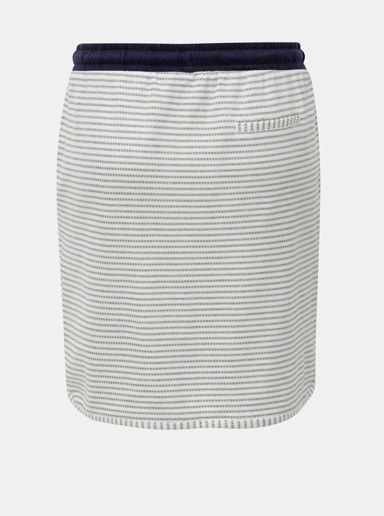 Modro-krémová pruhovaná sukně s.Oliver