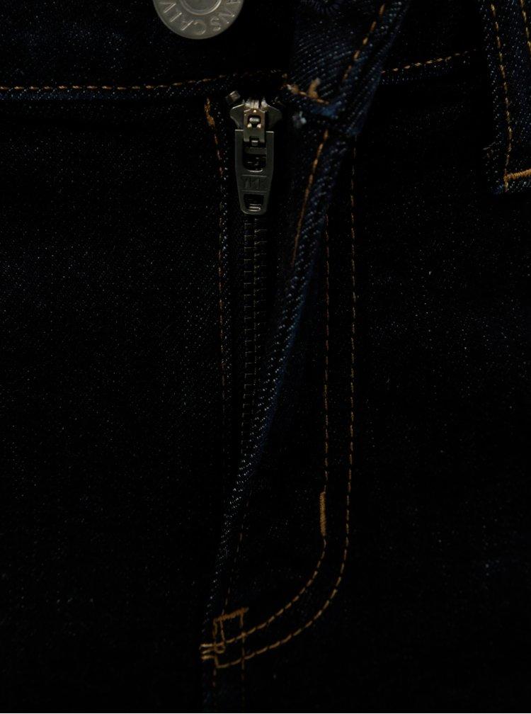 Tmavě modré dámské super skinny džíny Calvin Klein Jeans