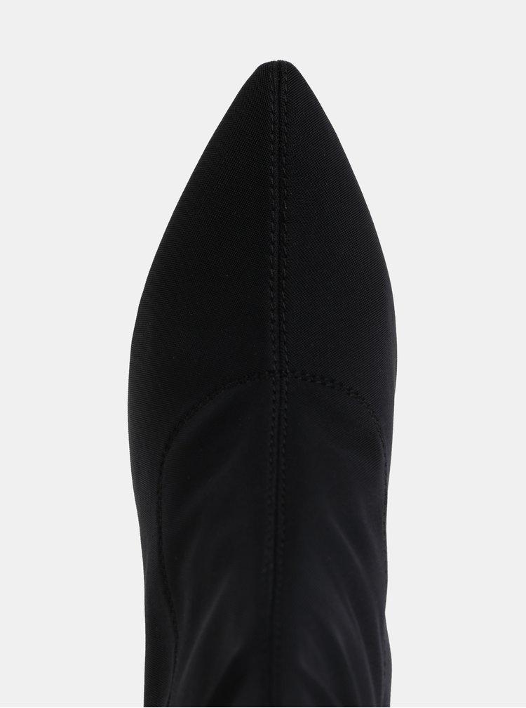 Čierne nízke čižmy Vagabond Mya