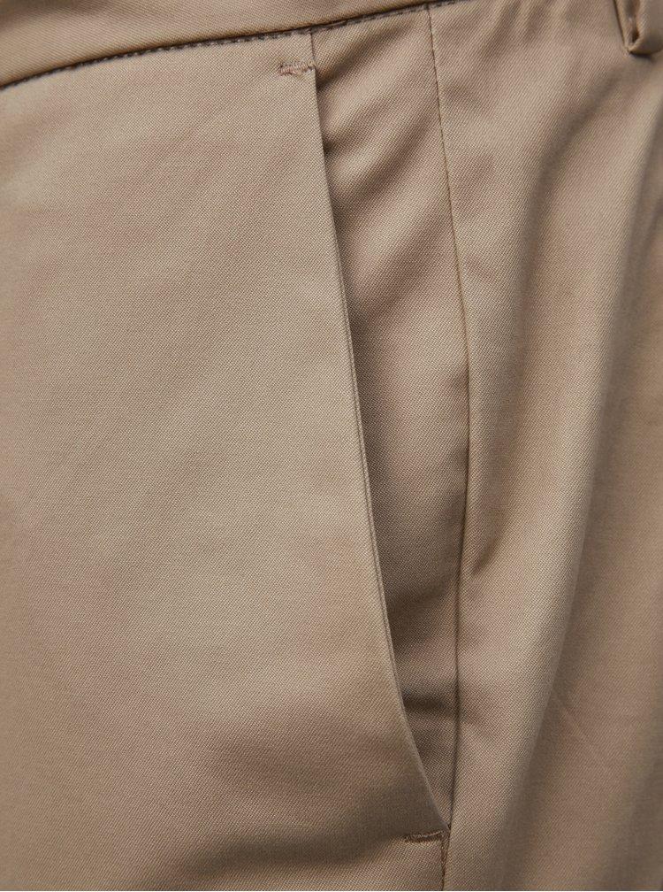 Béžové slim fit chino kalhoty Burton Menswear London