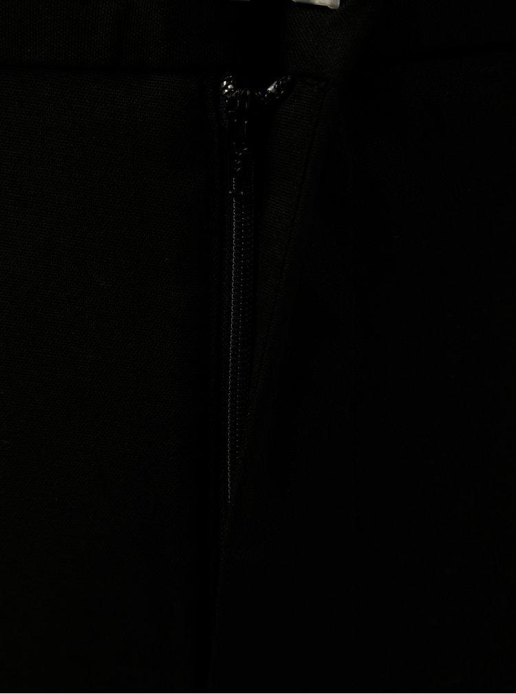 Černé tailored fit regular kalhoty Burton Menswear London