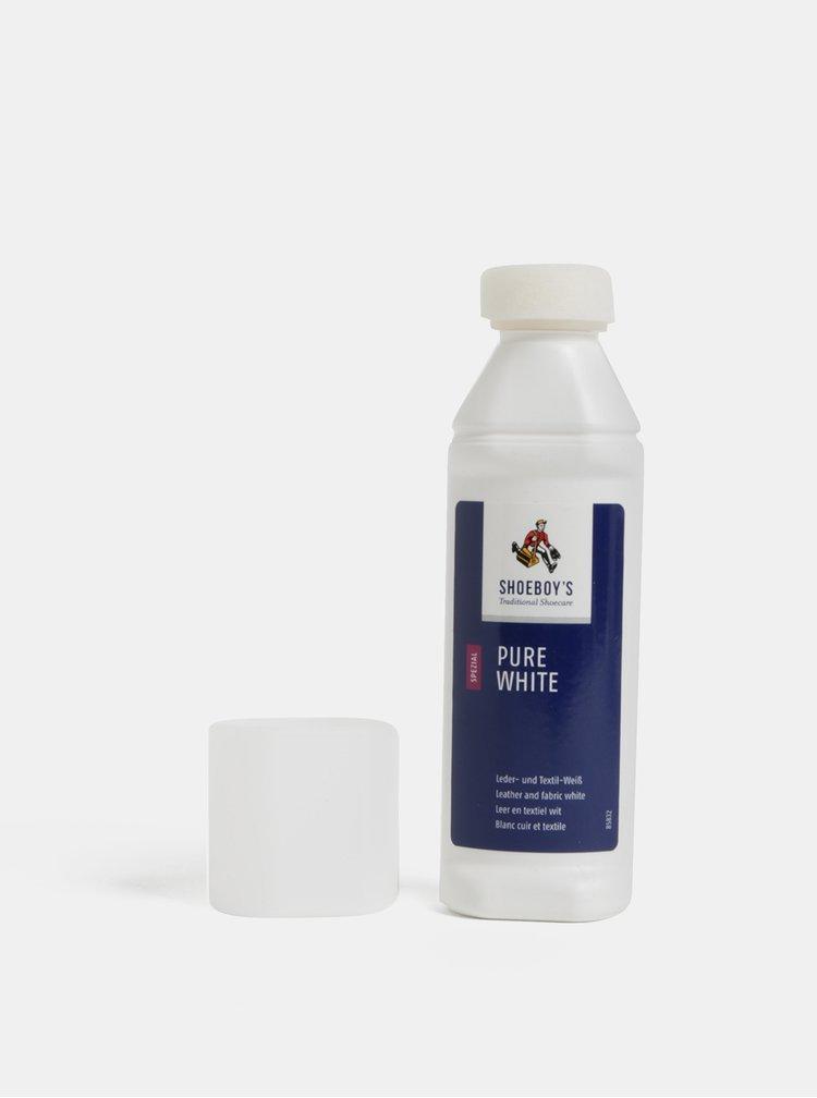 Produs pentru culoare cu burete pentru incaltaminte alba Shoeboy's 75 ml