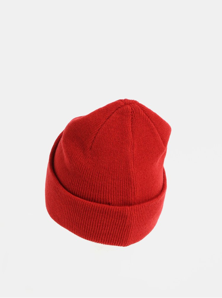 Červená vlněná čepice Moss Copenhagen Mojo
