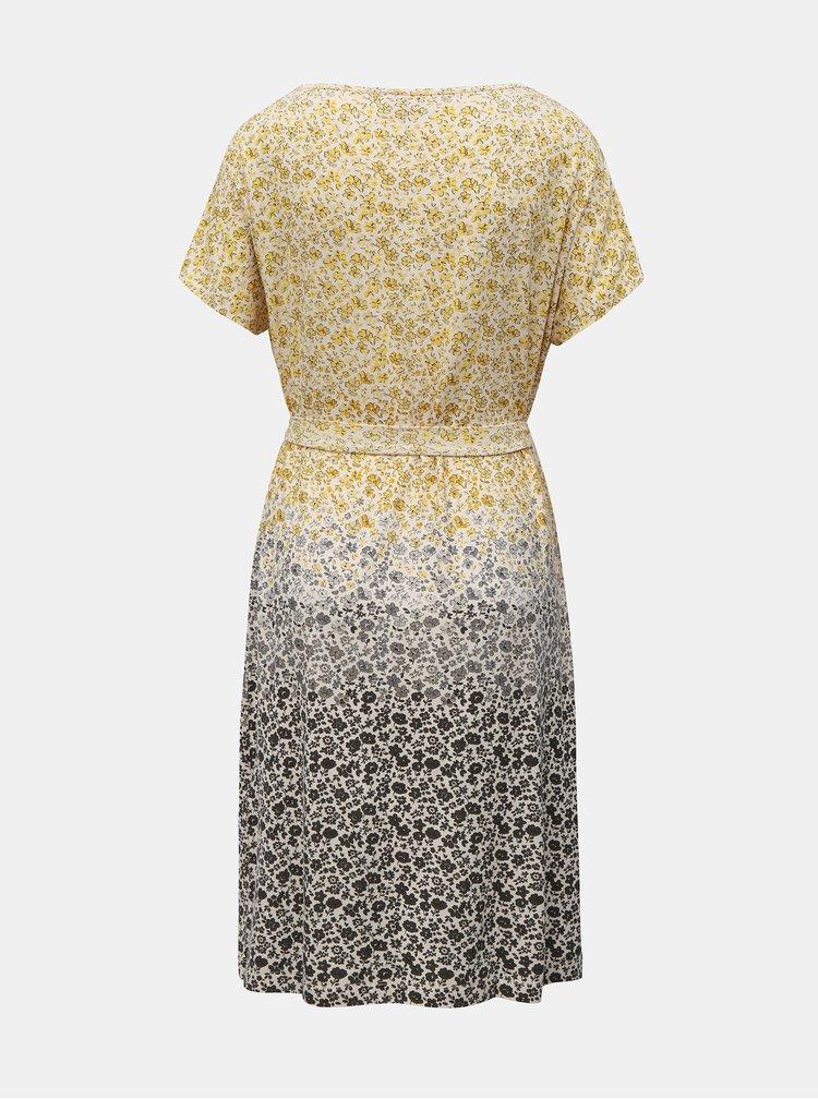 Sivo–žlté kvetované šaty Cath Kidston