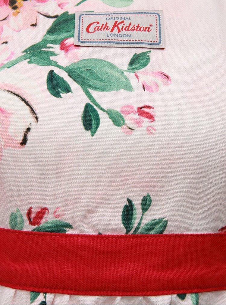 Růžová květovaná zástěra Cath Kidston