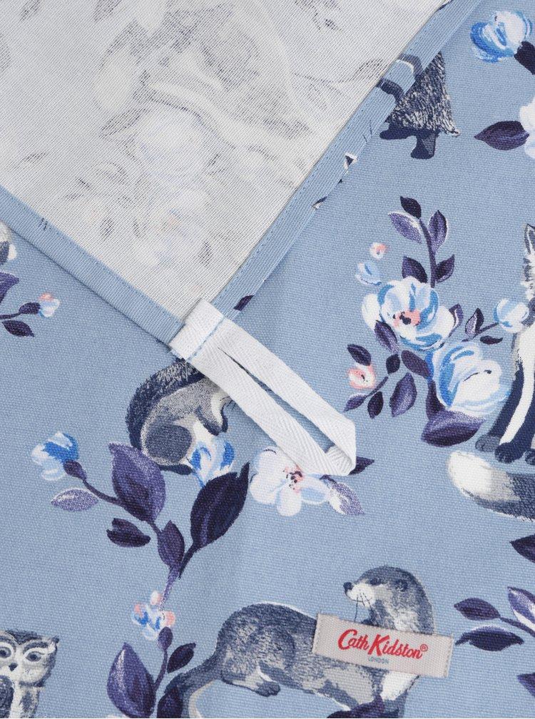 Sada dvou vzorovaných utěrek v bílé a modré barvě Cath Kidston